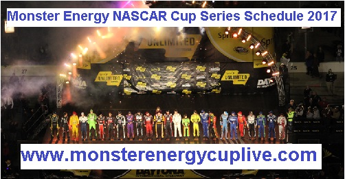 2017 Monster Energy NASCAR Cup Series Schedule