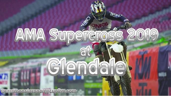 AMA Supercross Glendale 2019 Round 2