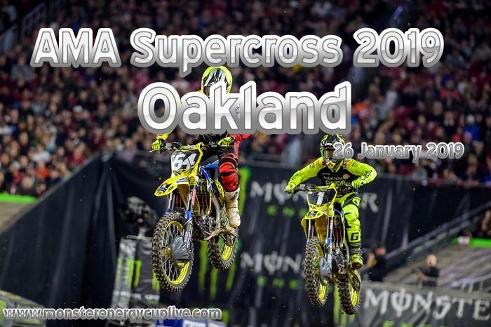 AMA Supercross Oakland 2019 Round 4 On NBC