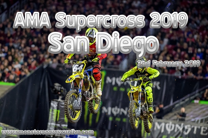2019 Supercross San Diego Stream On 2 Feb
