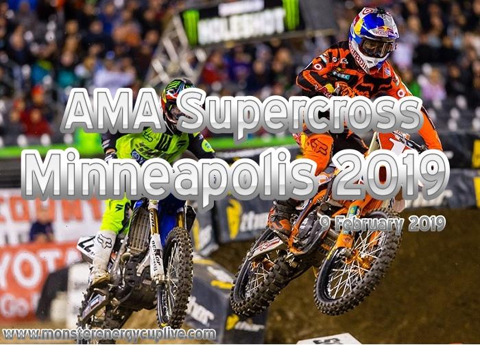 AMA Supercross Minneapolis 2019 Live Online