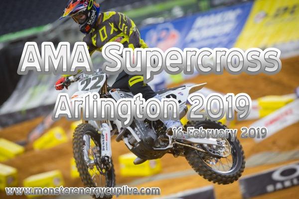 AMA Supercross Arlington 2019 Stream