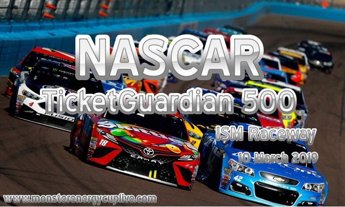 TicketGuardian 500 NASCAR ISM Raceway Live