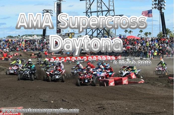 Watch AMA Supercross Daytona 2019 Live