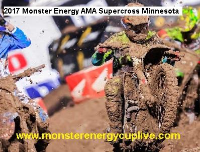 2017 Monster Energy AMA Supercross Minnesota live