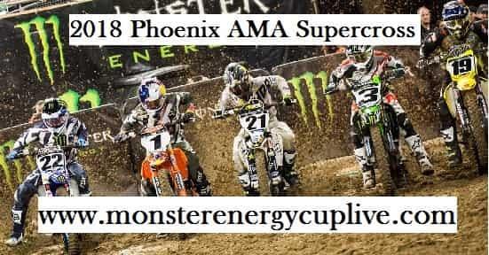 2018 Phoenix AMA Supercross