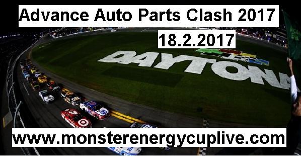 Advance Auto Parts Clash 2017 live