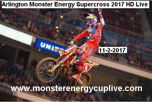 AMA Supercross Arlington 2017 Live