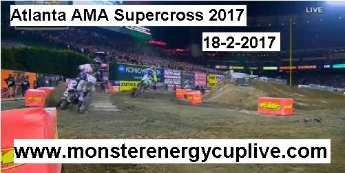 Atlanta AMA Supercross 2017 streaming live