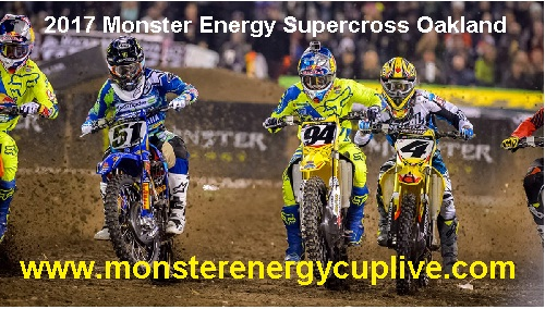 Monster Energy Supercross Oakland live