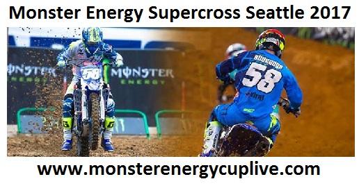 Monster Energy Supercross Seattle live