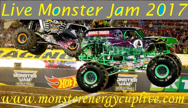 monster jam 2017 schedule