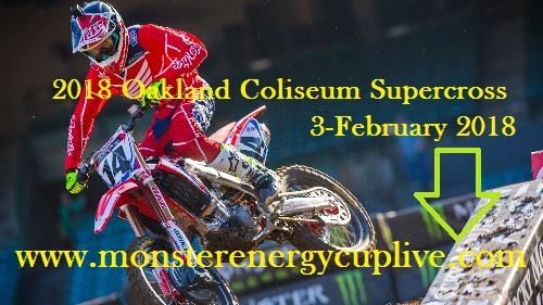 Oakland Coliseum Supercross