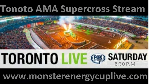 Tonoto AMA Supercross Stream Live